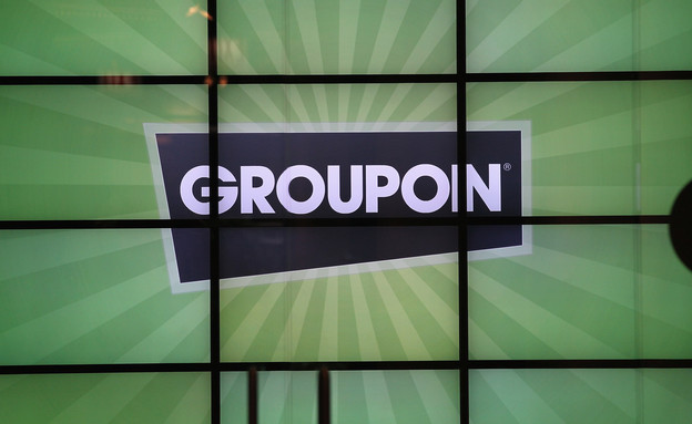 לוגו גרופון (צילום: Scott Olson, GettyImages IL)