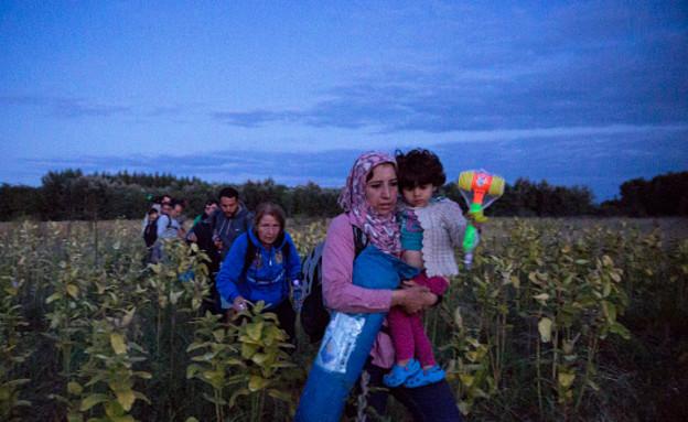 סיכום 2015 - מפת הפליטים (צילום: אימג'בנק/GettyImages, getty images)