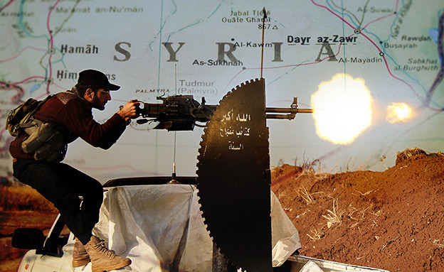 מלחמה בסוריה (צילום: getty images / thinkstock. עיצוב: סטודיו מאקו)