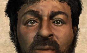 שחזור ישו (צילום: BBC)