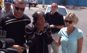 האב עלי אמטיראת בעת מעצרו