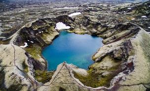 איסלנד מרחפן (צילום: Jakub Polomski)