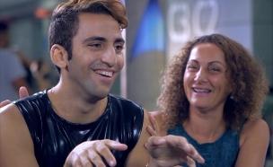 הצצה לאודישן של בן (צילום: מתוך הכוכב הבא לאירוויזיון 2016, שידורי קשת)