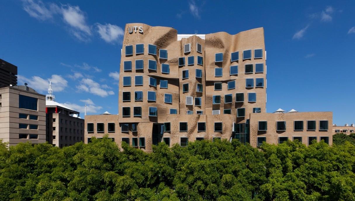 בניין שקית הנייר של פרנק גרי