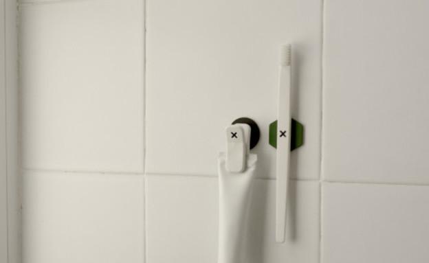מגנטים למברשת שיניים (צילום: מתוך קיקסטארטר)