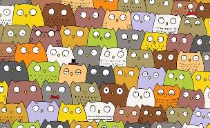 מצאו את החתול (צילום:  Dudolf)