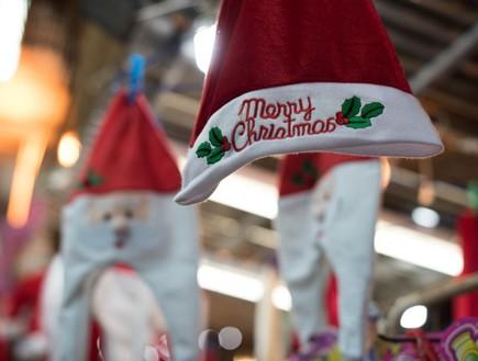 נצרת כובע חג מולד