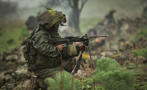"""יחידת רימון במתאר צפוני (צילום: דובר צה""""ל, באדיבות גרעיני החיילים)"""