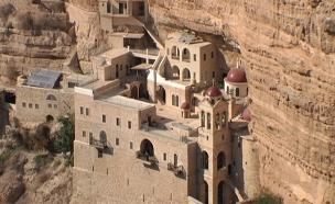 הצצה לעולמם של הנזירים במדבר יהודה (צילום: חדשות 2)