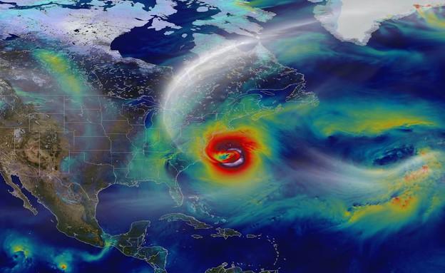 חיזוי מזג אוויר (צילום: NASA Goddard Space Flight Center)