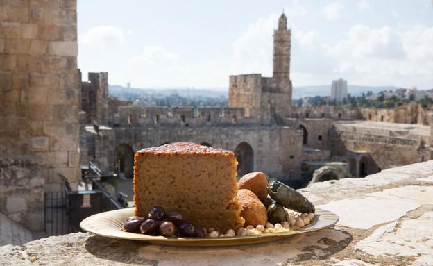 מגדל דוד ירושלים אוכל (צילום: עודד אנטמן,  יחסי ציבור )
