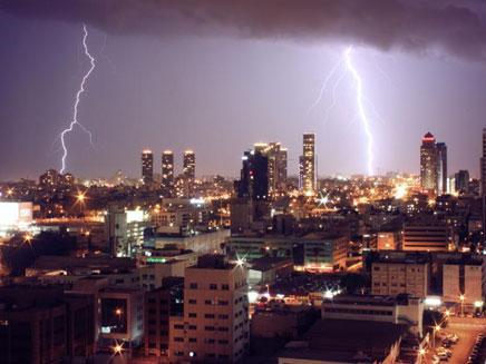 מזג אוויר סוער בכל הארץ. ארכיון (צילום: עדי נחום)