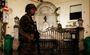 חייל בבריסל. ארכיון (צילום: רויטרס)