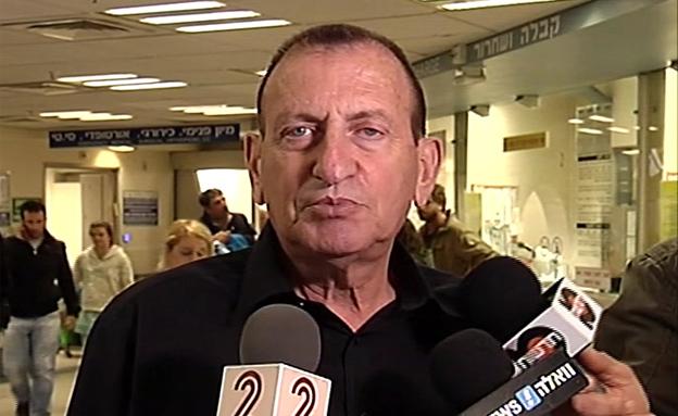 """ראש העיר חולדאי: """"אין קשר לקהילת הלהט""""ב"""" (צילום: חדשות 2)"""