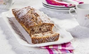 עוגת וניל ושוקולד צ'יפס (צילום: אסף אמברם, אוכל טוב)
