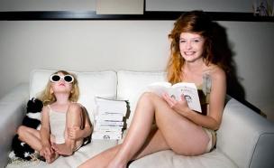 קמפיין לנז'רי לילדות של jours apres lunes (יח``צ: האתר הרשמי)