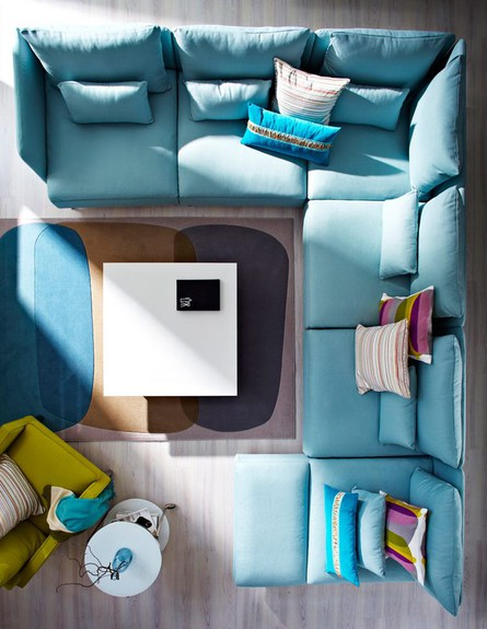 מערכת ישיבה מודולרית (צילום: IKEA)
