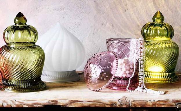 מנורות LED דקורטיביות עכשיו בסייל (צילום: IKEA)