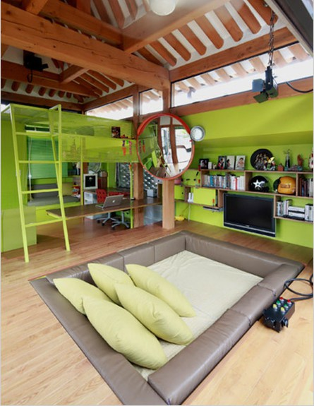 חדר שינה שקוע (צילום: מתוך epimg)