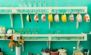כתבת צבע, נירלט קיר מטבח (צילום: יחצ נירלט)