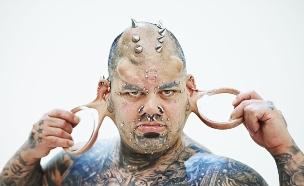חור אוזן גינס (צילום: Guinness World Records)