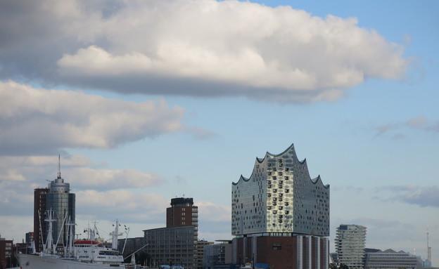 מבט מהמעבורת, המבורג (צילום: לירון מילשטיין, המבורג, mako חופש)