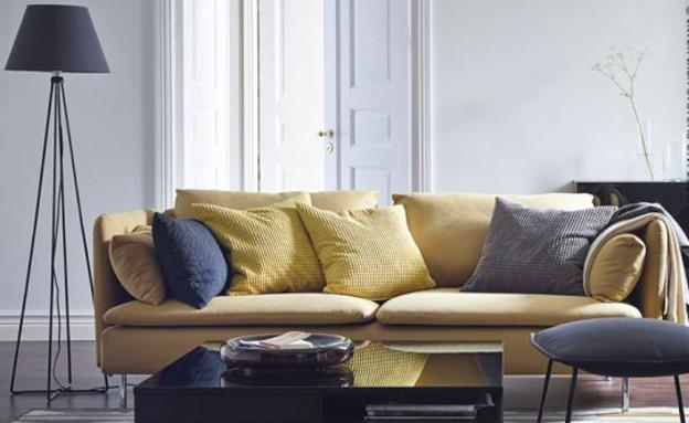 גם בצהוב זה נראה טוב (צילום: IKEA)