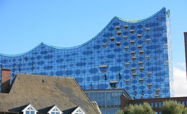 בניין הפילהרמונית, המבורג (צילום: לירון מילשטיין, המבורג, mako חופש)