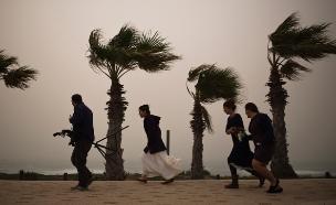 התחזית: רוחות עזות וגשמים (צילום: רויטרס)