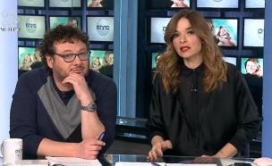 """דיון על הפלייליסט של גלגל""""צ (צילום: מתוך הדצים, ערוץ 24)"""