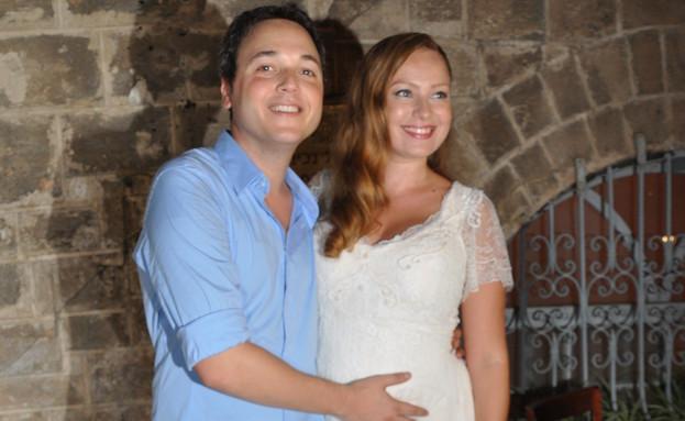 חתונה בן ארצי (צילום: צ'ינו פפראצי)