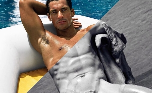 דיוויד טראבקו, davide-trabucco, david gandy, dolce & gabbana light (צילום: davide trabucco)