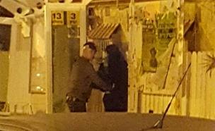 תיעוד: מעצר החשודה