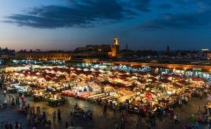 כיכר ג'מע אל-פנה, מרוקו (צילום: smartair.co.il)