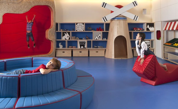 מלון מצודת דוד - חדר המשחקים (צילום: עמית גירון,  יחסי ציבור )
