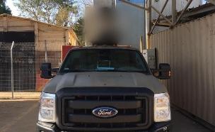 """הכרב""""ם - כלי רכב בלתי מאויש (צילום: דובר צה""""ל, באדיבות גרעיני החיילים)"""