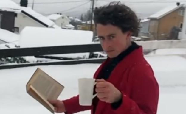 דוח ויראלי (צילום: מתוך הסרטון)