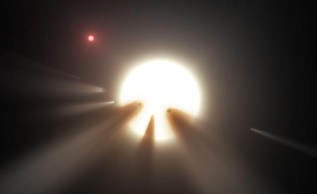 כוכב לכת מסתורי (צילום: gizmodo)