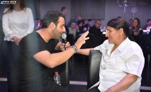 אימא של דודו אהרון מדברת (צילום: ארן חן צלמים, רדיו לב המדינה)