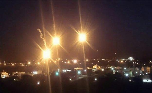 פצצות תאורה בסריקות אחר המחבל