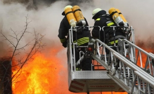 שריפה (צילום: Sean Gallup, GettyImages IL)