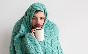 גבר חולה (צילום: Estrada Anton, Shutterstock)