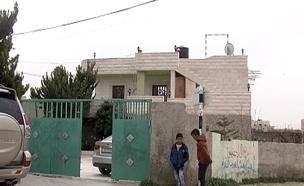 בית משפחת המחבל בכפר יטא (צילום: חדשות 2)