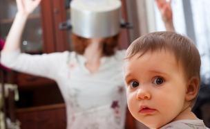 אמא מתוסכלת (צילום: Shutterstock)