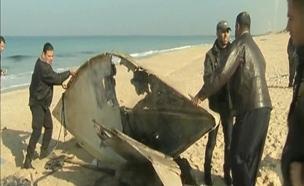 זירת חיסול ברצועת עזה (צילום: חדשות 2)