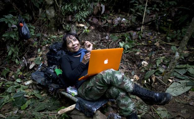 המחתרת שנלחמת בשלטונות בקולומביה (צילום: Sakchai Lalit | AP)