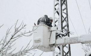בחברת החשמל נערכים לטיפול בתקלות (צילום: פייסבוק חברת החשמל)