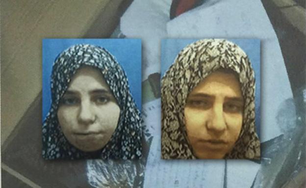 """התאומות החשודות (צילום: תקשורת שב""""כ)"""