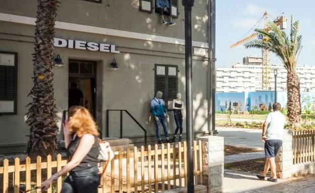 חנות של דיזל במתחם שרונה (צילום: אייל טואג, TheMarker)