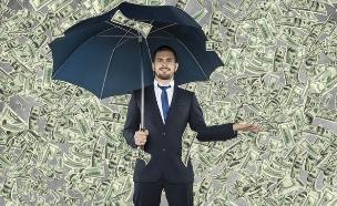 גשם של כסף (צילום: Shutterstock)